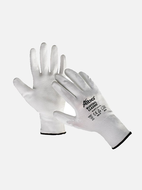 Bunting-bele-rukavice