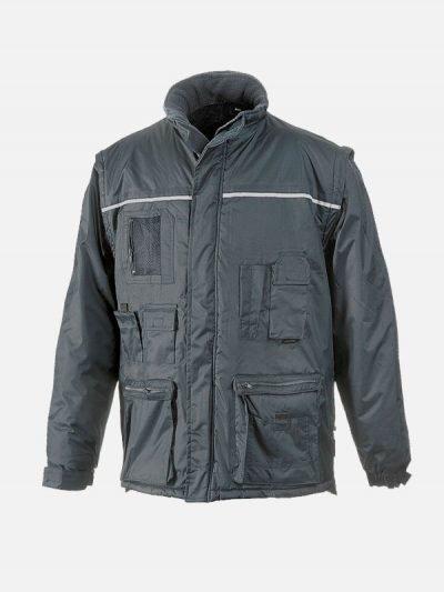 Libra-Jakna-2-u-1-siva-jakna-zastitna-garderoba-zimska-jakna-htz