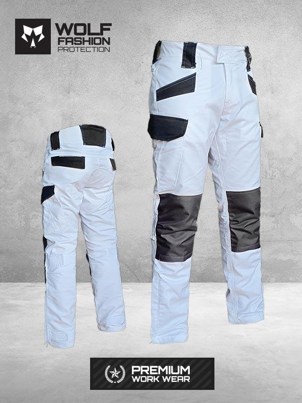 Radne Pantalone Si-Wolf 1001 Bela boja