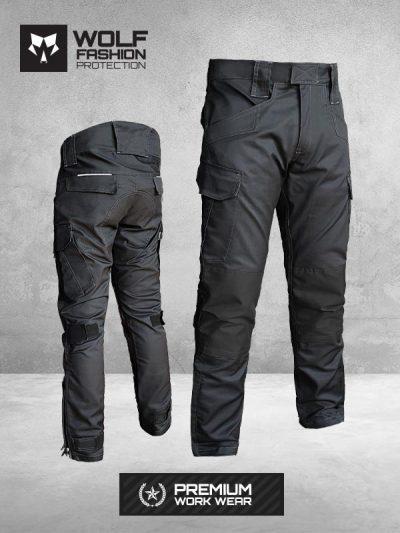 Radne Pantalone Si-Wolf 1001 Crna boja