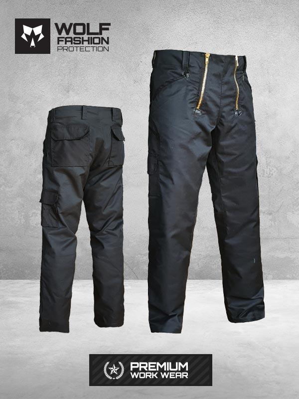 Radne Pantalone Si-Wolf 1008 crna boja
