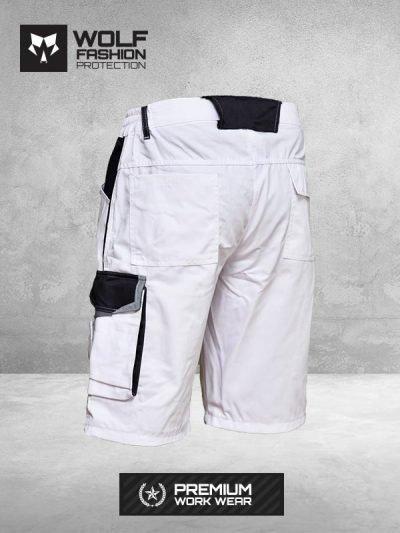 Radni Šorc Si-Wolf 3500 belo crne boje