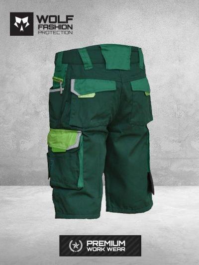 Radni Šorc Si-Wolf 3501 zelene boje