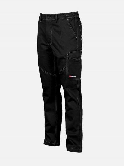 Worker radne pantalone crna boja
