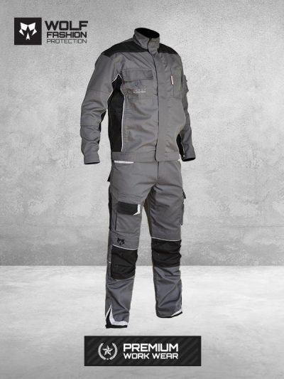 radno-odelo-wolf-premium-work-wear-zastitna-odeca-sivo-crna-kombinacija-napred-