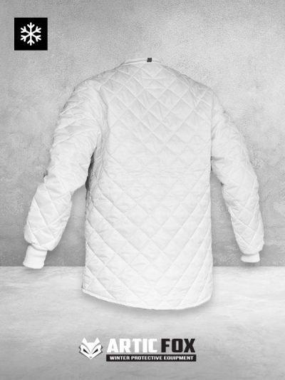 zimska-jakna-bez-kragne-radna-odeca-zastita-od-hladnoce-od-0-do-5-bela-boja-pozadi