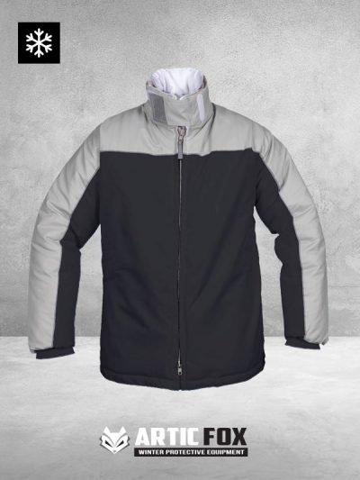 zimska-jakna-radna-odeca-zastita-od-hladnoce-od-0-do--49-sivo-crna