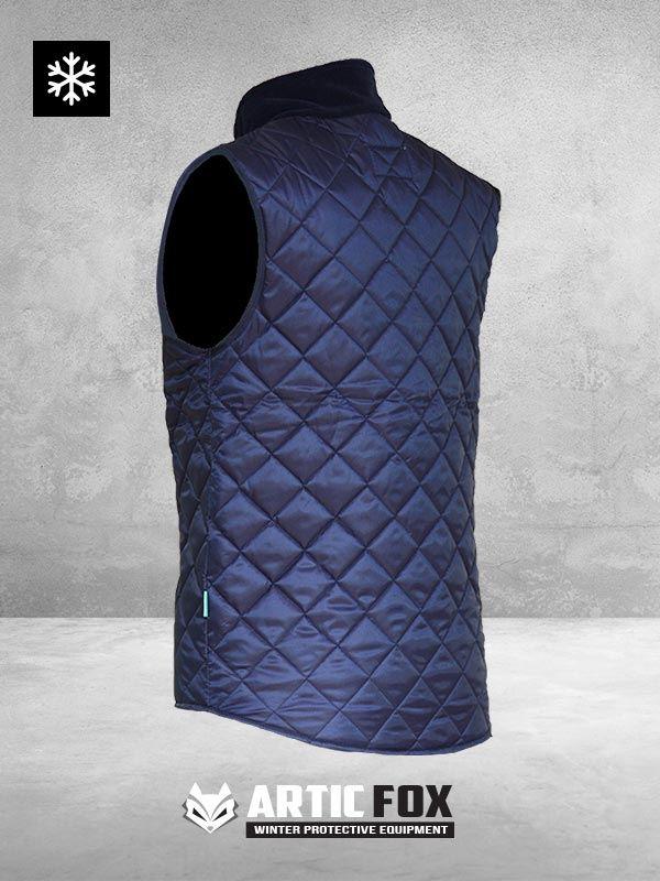 zimski-prsluk-sa-kragnom--radna-odeca-zastita-od-hladnoce-od-0-do--5-teget-boja-pozadi