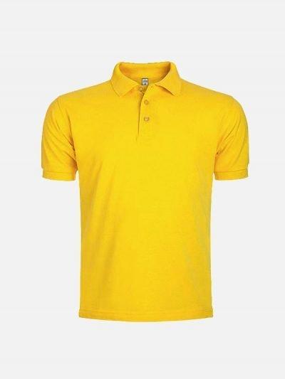 Pamučna polo majica žuta boja