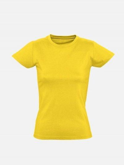 Premia žuta ženska pamučna majica
