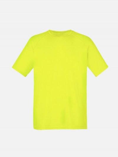 Žuta majica sa reglan rukavima