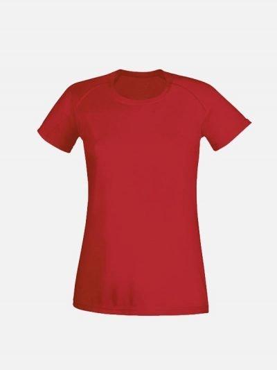 Ženska crvena sportska majica