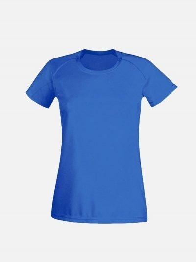 Ženska royal plava sportska majica