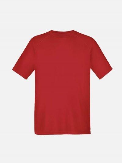 Crvena majica sa reglan rukavima
