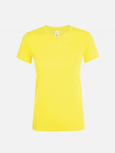 Ženska pamučna majica žute boje