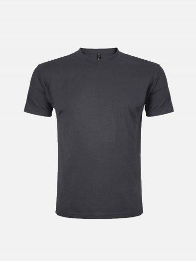 Muška pamučna majica tamno sive boje