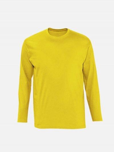 Majica dugih rukava žute boje