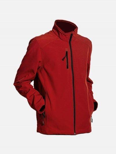 Crvena Softshell jakna