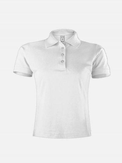 Ženska polo majica bele boje