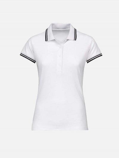 Ženska bela polo majica