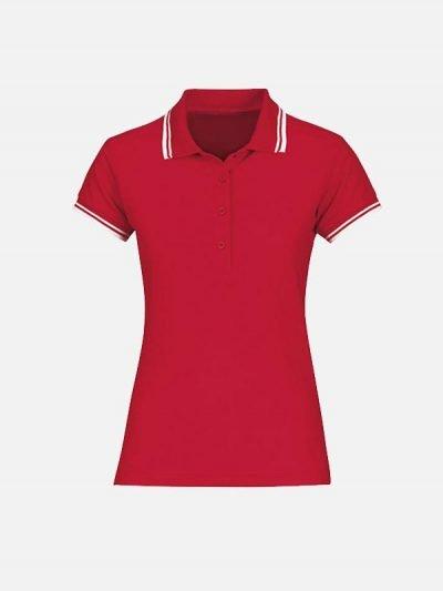 Žesnka crvena polo majica