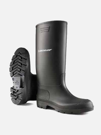 Dunlop Pricemastor crne čizme
