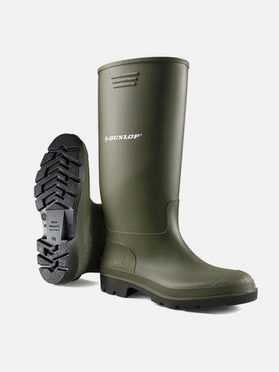 Dunlop Pricemastor zelene čizme