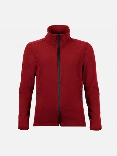 Crvena ženska jakna