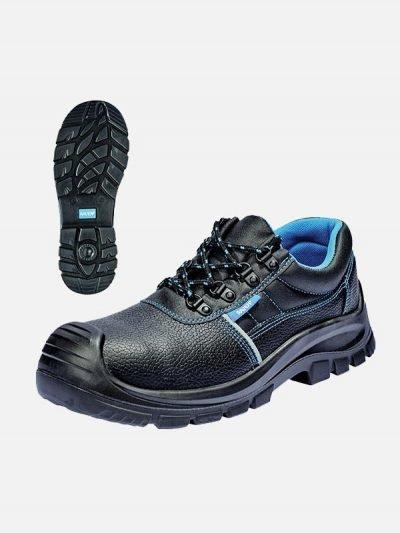 Raven plitke zaštitne cipele