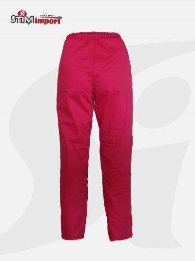 crvene ženske radne pantalone